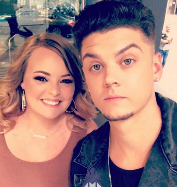 Catelynn Lowell and Tyler Baltierra, 2018 Selfie