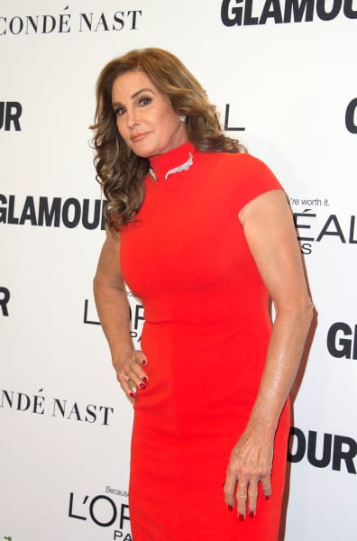 Caitlyn Jenner in Red