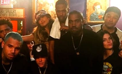 EPIC Pre-Grammys Party Pic: Kanye, Kendall, The Biebs & More!