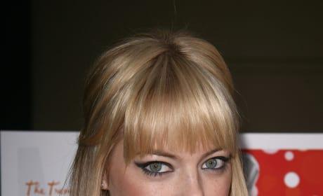 Emma as a Blonde