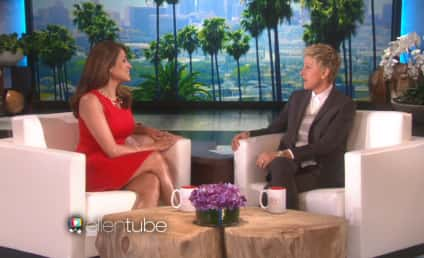Eva Mendes Reveals First Baby Photo on Ellen! Sort Of!