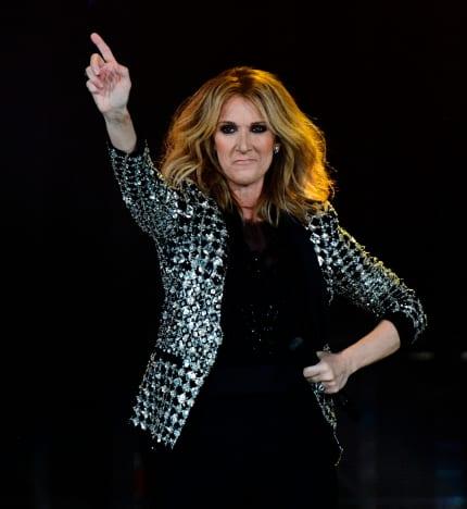 Celine Dion in Paris