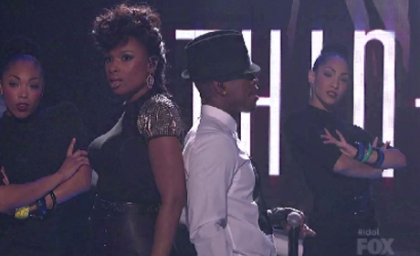 "Jennifer Hudson & Ne-Yo - ""Think Like A Man"" (American Idol Results Show)"