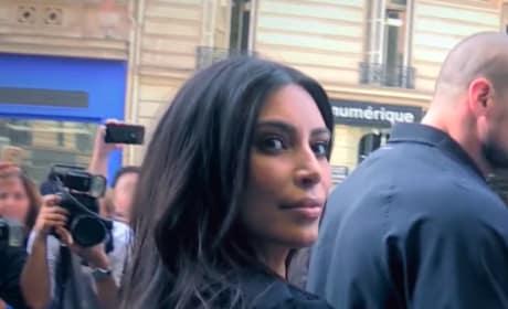 Kim Kardashian in Public