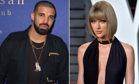 Drake and Taylor Swift Photo