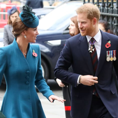 Middleton and Prince Harry