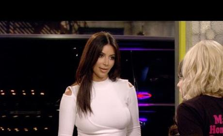 Kim Kardashian Guest Stars on 2 Broke Girls