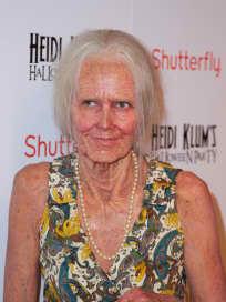 Heidi Klum as an Old Woman