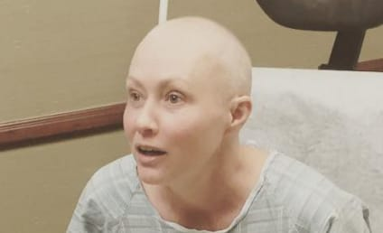 Shannen Doherty Shares Bald Photo, Starts Radiation