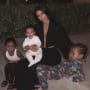 Kim Kardashian and All Kids