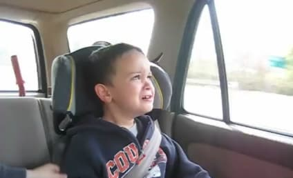 Toddler Cries Over Political Shortcomings