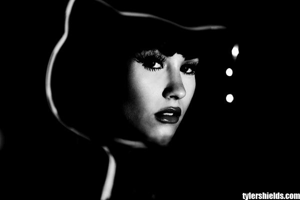 Demi Lovato Goes Black/White