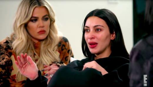 Kim Kardashian Cries a Lot