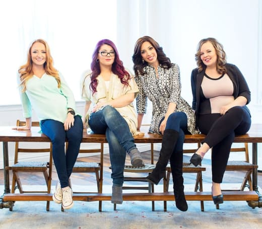 Teen Mom Season 6 Cast Photo