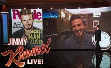 Jimmy Kimmel Introduces the Sexiest Man Alive