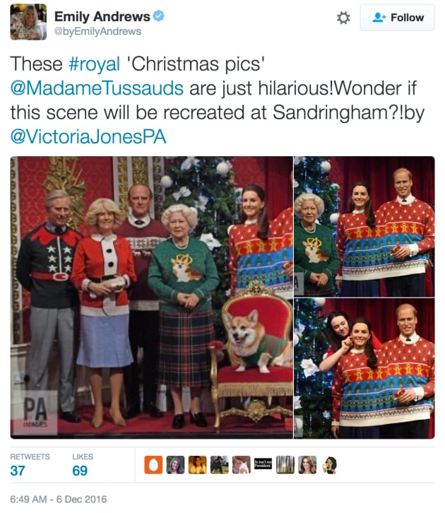 Royal Family Wears Ugly Christmas Sweaters, Wins the Holidays ...