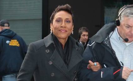 "Robin Roberts Feels Like ""Walking Miracle,"" Gives Thanks for Amber Laign"