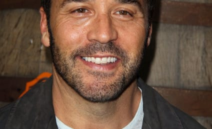 Jeremy Piven and Puppy Prepare for Emmy Awards
