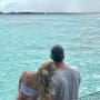 Lauren Burnham and Arie Luyendyk Jr. in the Maldives
