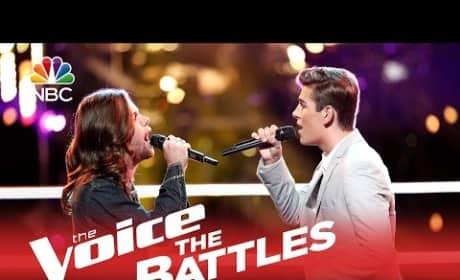 Tyler Dickerson vs. Zach Seabaugh (The Voice Battle Round)