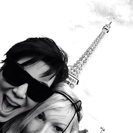 Kris Jenner Eiffel Tower Pic