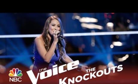 Alessandra Castronovo - Next to Me (The Voice Knockouts)