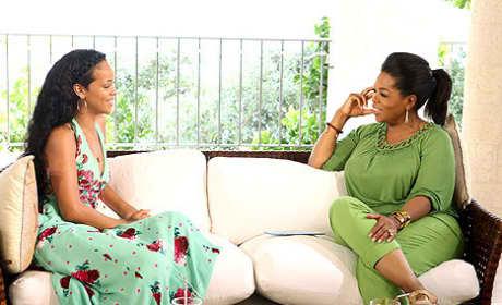 Oprah and Rihanna