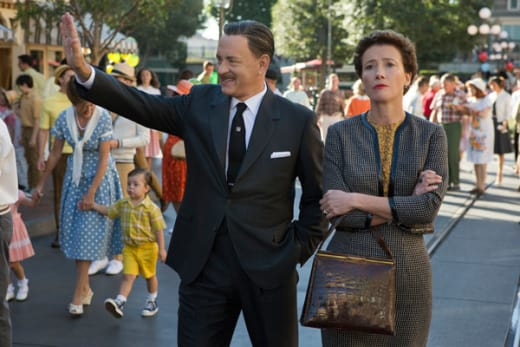 Tom Hanks as Walt Disney in Saving Mr. Banks