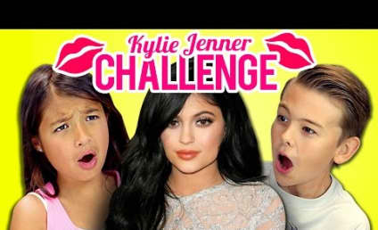Kylie Jenner Lip Challenge: Watch These Kids React!