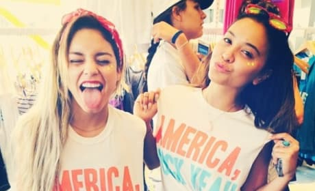 Vanessa Hudgens Loves America!