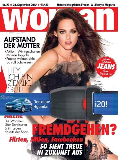 Kristen Stewart Magazine Cover