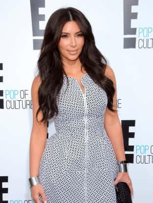 Kim Kardashian at E! Upfront