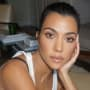 Kourtney Kardashian Stares Hard