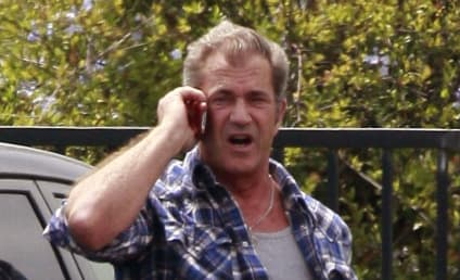 Sober Mel Gibson Parties Late Night in Texas