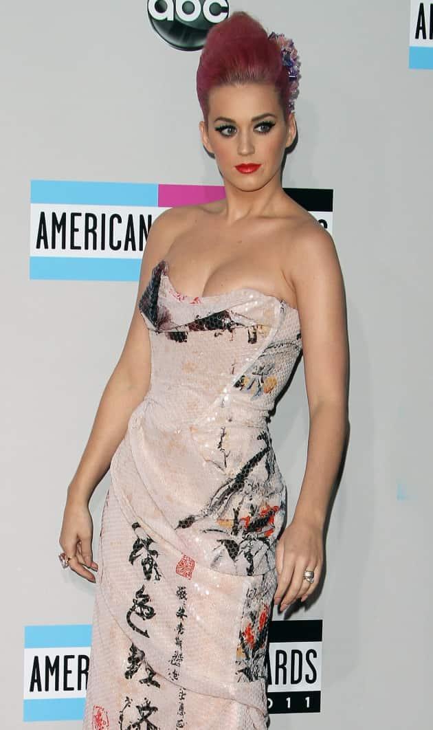 Katy Perry, Low Cut Dress