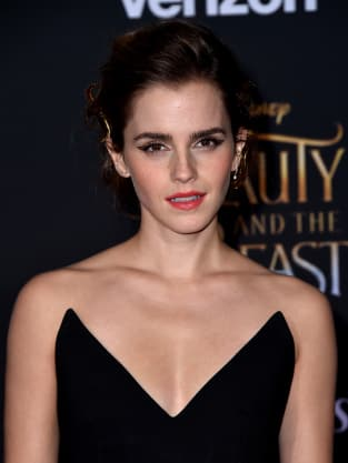 Emma Watson at Beauty and the Beast Premiere