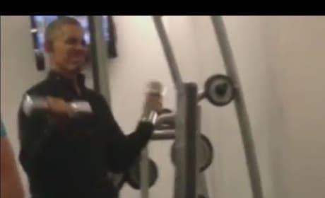 Barack Obama Workout Video