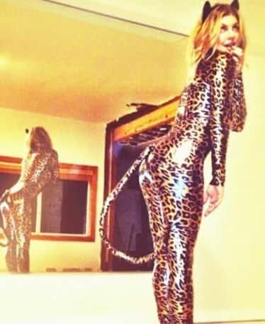 Fergie as a Cat