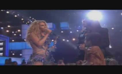 Beyonce Wins Millenium Award, Performs New Single