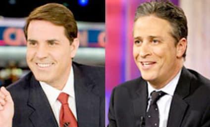 Rick Sanchez and Jon Stewart Make Up