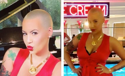 """Amber Rose Feels """"Amazing,"""" Tweets Post-Baby Body Pictures"""