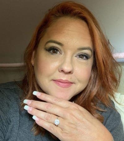 Rebecca Parrott Flaunts Her Ring