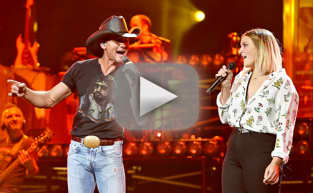 Tim McGraw Duets with Crazy Talented Daughter