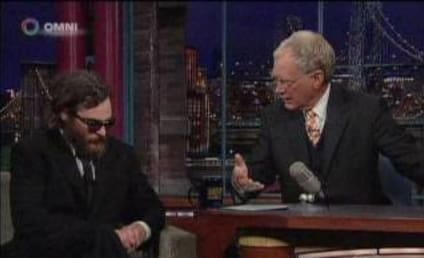 Joaquin Phoenix Zones Out on David Letterman