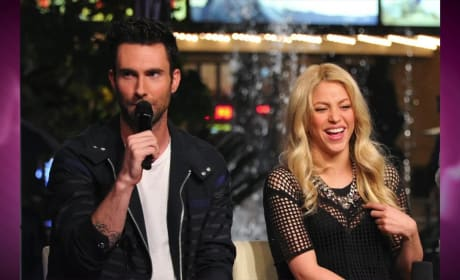 Adam Levine: Too Flirty with Shakira?
