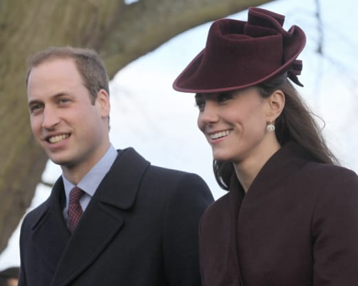 Kate Middleton, Prince William on Christmas