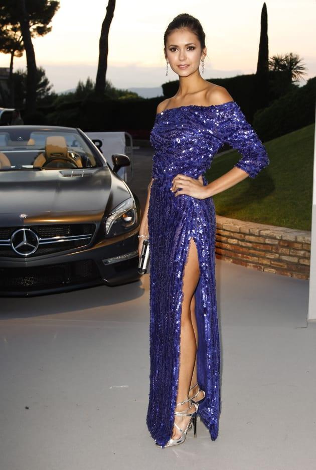Nina Dobrev in Cannes
