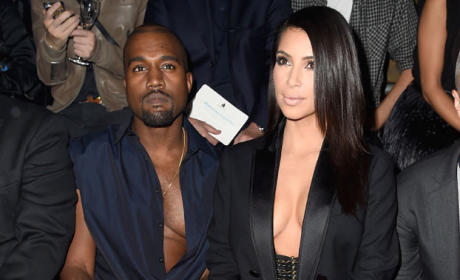 Kanye West and Kim Kardashian: Booed in Paris!