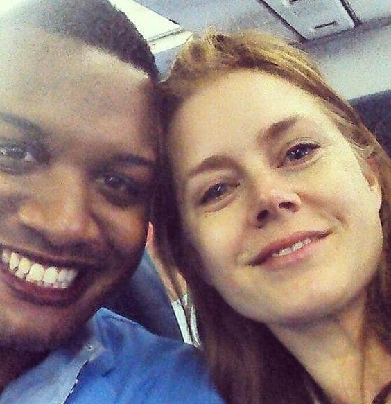 Selfie with Amy Adams