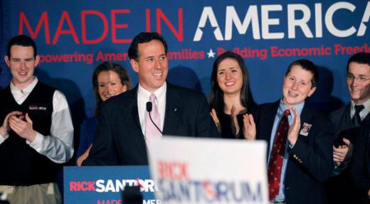 Santorum Wins Again
